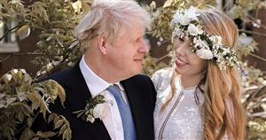 Carrie Symonds rented her stunning £3,000 designer wedding dress for just £45