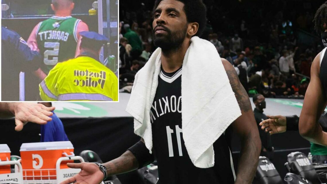 Celtics fan throws water bottle at Kyrie Irving in another NBA embarrassment