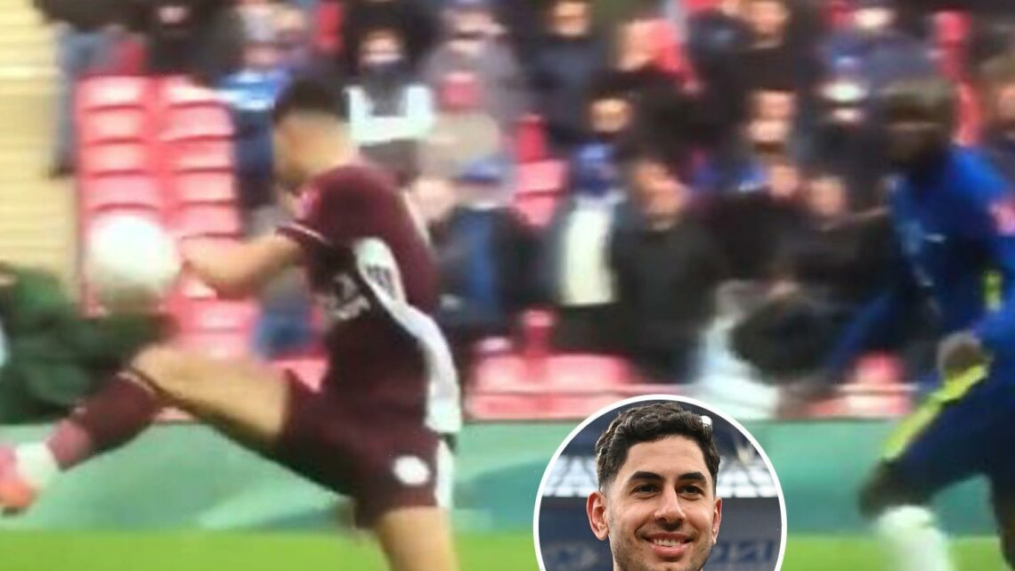 Chelsea fans claim Ayoze Perez handled ball before Youri Tielemans' FA Cup final winner