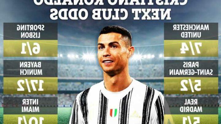Cristiano Ronaldo next club odds: Man Utd lead PSG & Real Madrid for Juventus star, David Beckham's Miami in the mix