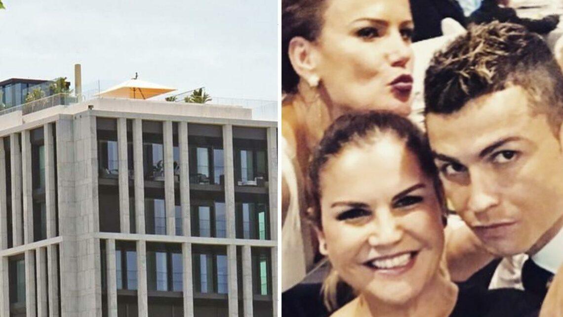 Cristiano Ronaldo's sister slams critics of Juventus star's 'eyesore' rooftop glass gazebo at £6.5m penthouse apartment