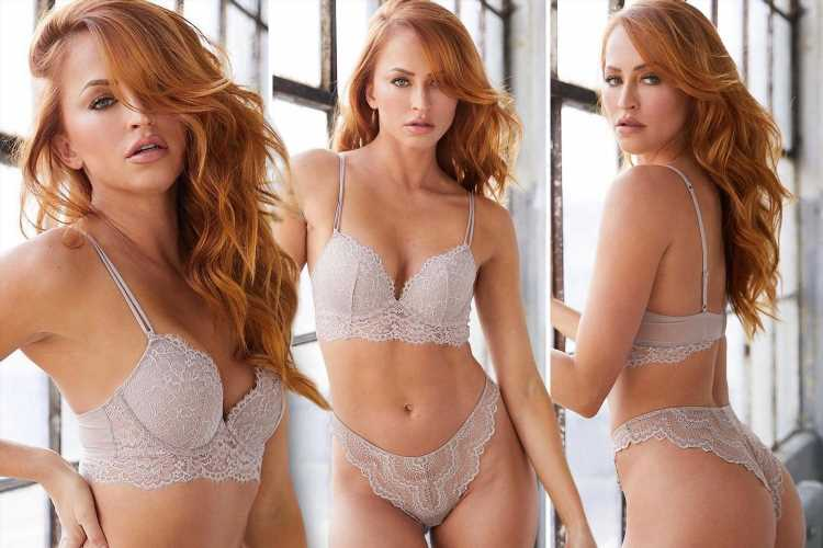 Danielle Moinet aka WWE's Summer Rae stuns in nude lingerie as she tells followers to 'hodl' cryptocurrency positions