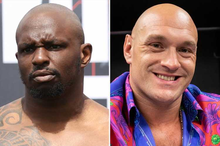 Dillian Whyte rips 'coward' Tyson Fury for reaction to Billy Joe Saunders' dad getting shoved by security at Canelo bout