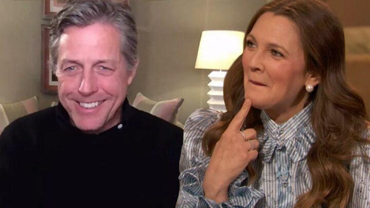 Drew Barrymore Reminds Hugh Grant About Their Drunken Makeout Session, Surprise Support After 1995 Scandal