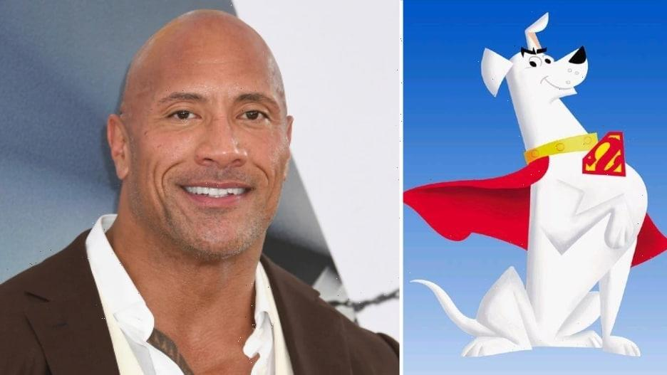 Dwayne Johnson to Voice Krypto the Super-Dog in 'DC League of Super-Pets'