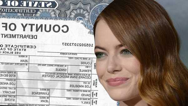 Emma Stone's Daughter's Name Revealed in Birth Certificate
