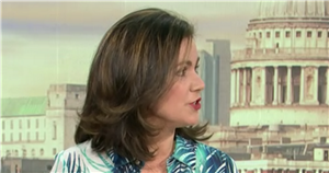 GMB's Susanna Reid snubs Alastair Campbell as he makes 'rude' jibe about gender