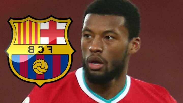 Gini Wijnaldum set to seal Barcelona free transfer after leaving Liverpool in snub to Bayern Munich and PSG