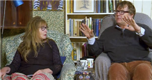 Gogglebox star Giles leaves partner Mary 'repulsed' as he slurps in earshot