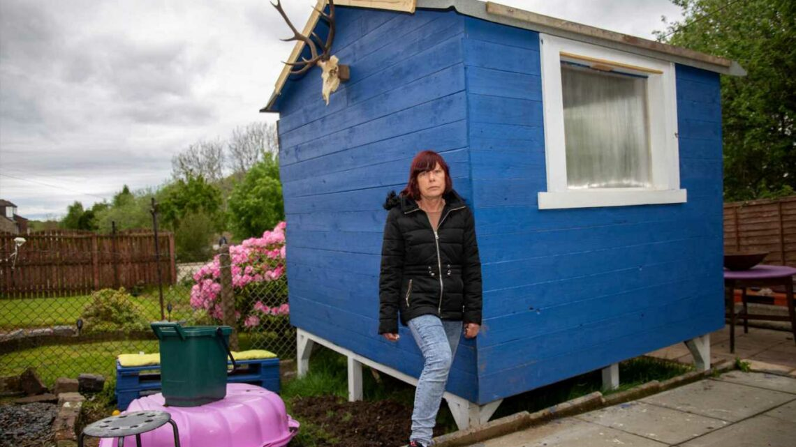 Gran, 61, shocked after being ordered to pull down summer house for being SIX inches too long