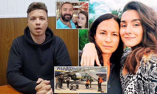 Hijacked Belarusian's girlfriend 'may be tortured to pressure him'