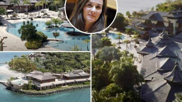 Inside private island Melinda Gates 'rented for $132,000-a-night in Caribbean during split'