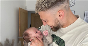 Jake Quickenden gets giant lion tattoo to honour baby Leo as he admits getting four hours sleep a night