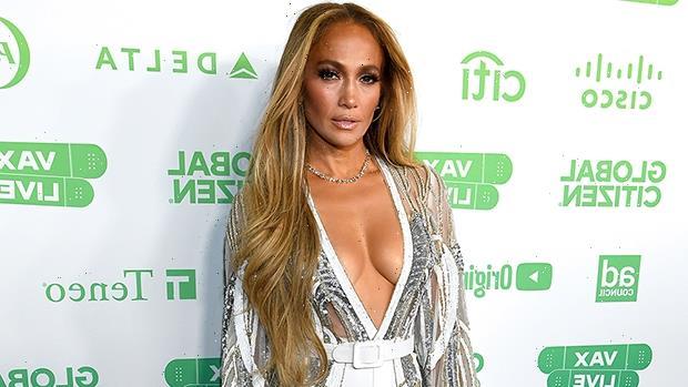 Jennifer Lopez Slays In Super Plunging Top For Vax Live Concert With Ben Affleck — Pics