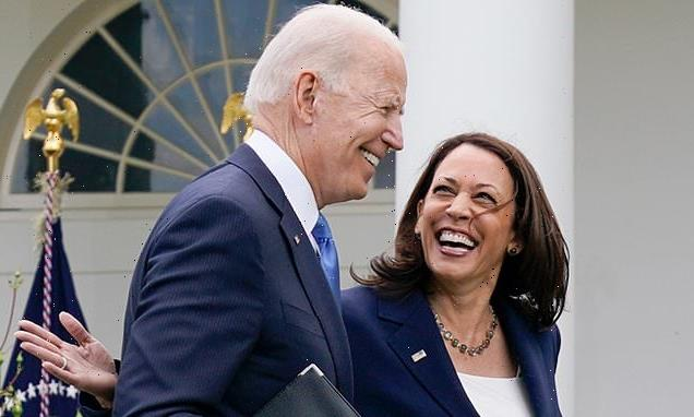 Joe and Kamala ditch face masks, joining Jill and Jennifer Garner