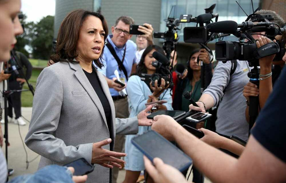 Kamala Harris keeps list of reporters who don't 'understand' her: report