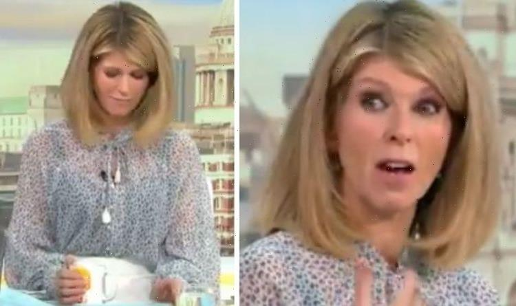 Kate Garraway 'can't see' as GMB star speaks on 'frustrating' health problem