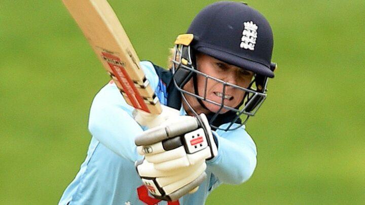Lauren Winfield-Hill hits unbeaten hundred in England Women's warm-up match