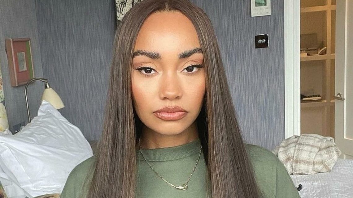 Leigh-Anne Pinnock Bares Huge Baby Bump as She's Pregnant With Her First Child