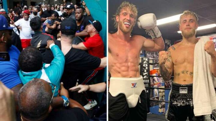 Logan and Jake Paul forced to hire 24/7 security after Floyd Mayweather threatens to 'kill' YouTuber in huge brawl