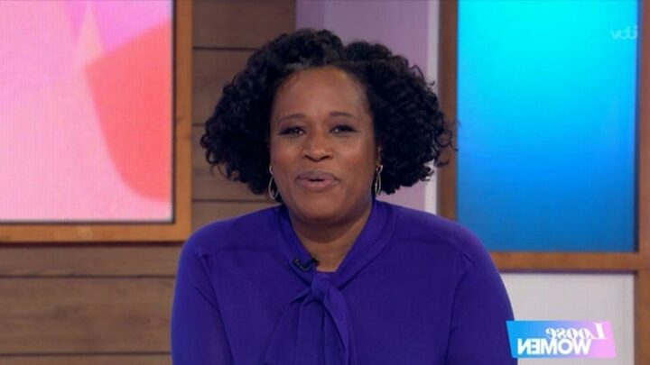 Loose Women host Charlene White says 'horrific barrages of online abuse' have left her in tears
