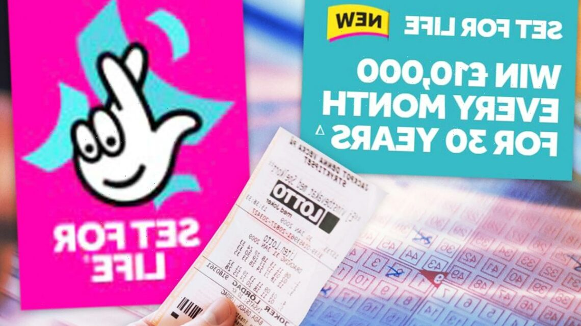 Lottery results LIVE: National Lottery Set For Life draw tonight, May 10, 2021