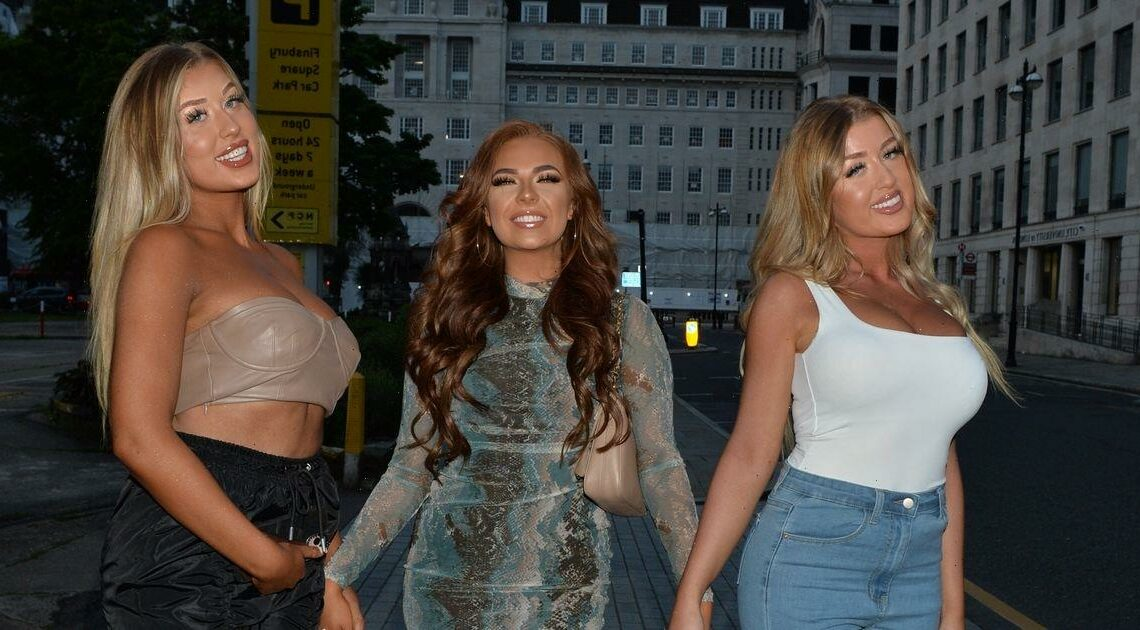 Love Island's Demi Jones glams up for night out with co-stars after cancer diagnosis