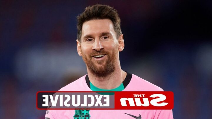 Man City told Lionel Messi transfer is on – if they pay him a whopping £500k per week AFTER TAX
