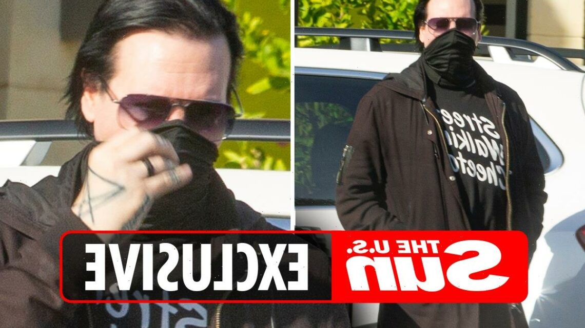 Marilyn Manson breaks cover to hang with pals in LA as he's seen for first time since shock sex assault & rape claims