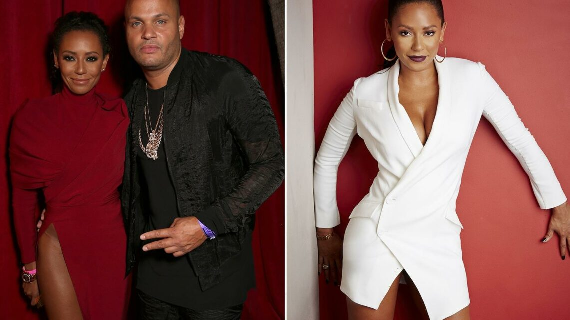 Mel B reveals she only wore white for a YEAR after splitting from 'abusive' ex who controlled her wardrobe