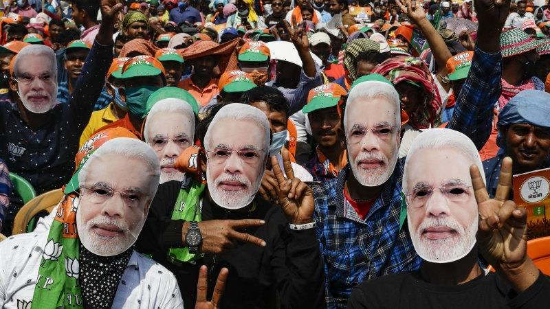 Modi missing in action during nation's deadly crisis