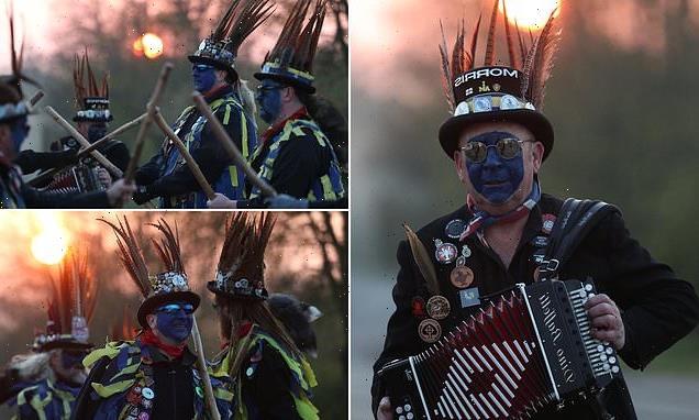Morris dancer group to use BLUE face paint to avoid 'blackface' row