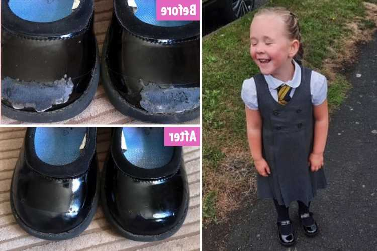 Mum's genius 89p hack stops her having to buy her daughter new school shoes