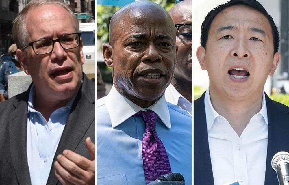 NYC mayoral candidates barnstorm city as primary looms