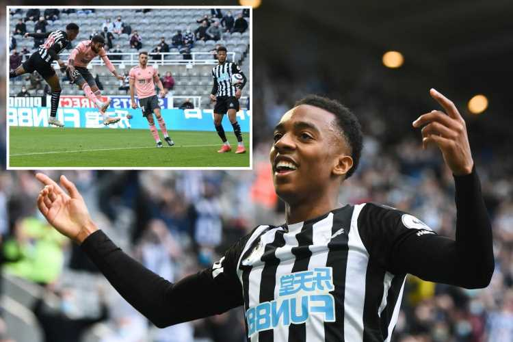Newcastle 1 Sheffield United 0: Joe Willock becomes youngest player in Prem history to score in SIX games in a row