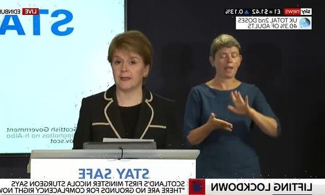 Nicola Sturgeon warns R might be ABOVE one in Scotland