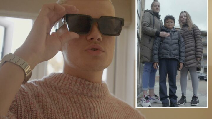 Pampered student who spends £100 on eating out is horrified that family eat dinner on the floor on Rich Kids Go Skint
