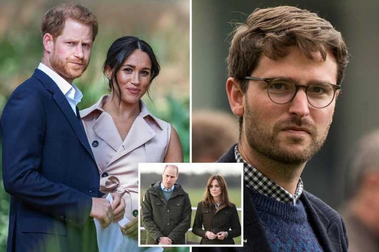 Prince William and Kate's charity chief who accused Meghan Markle of bullying QUITS after named in Duchess' court docs