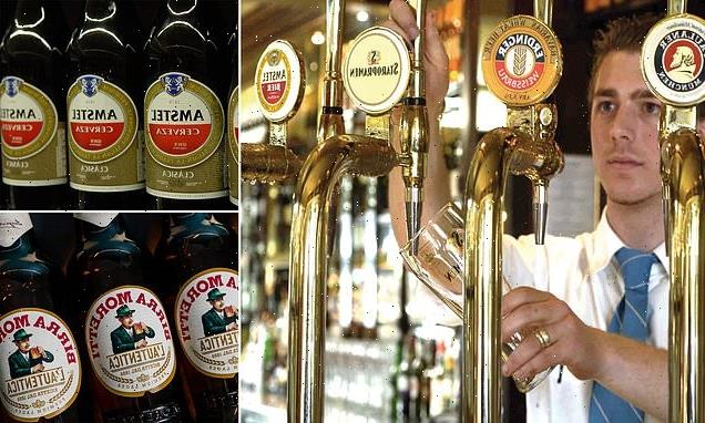 Pub chief warns of a BEER shortage ahead of indoor reopening of bars