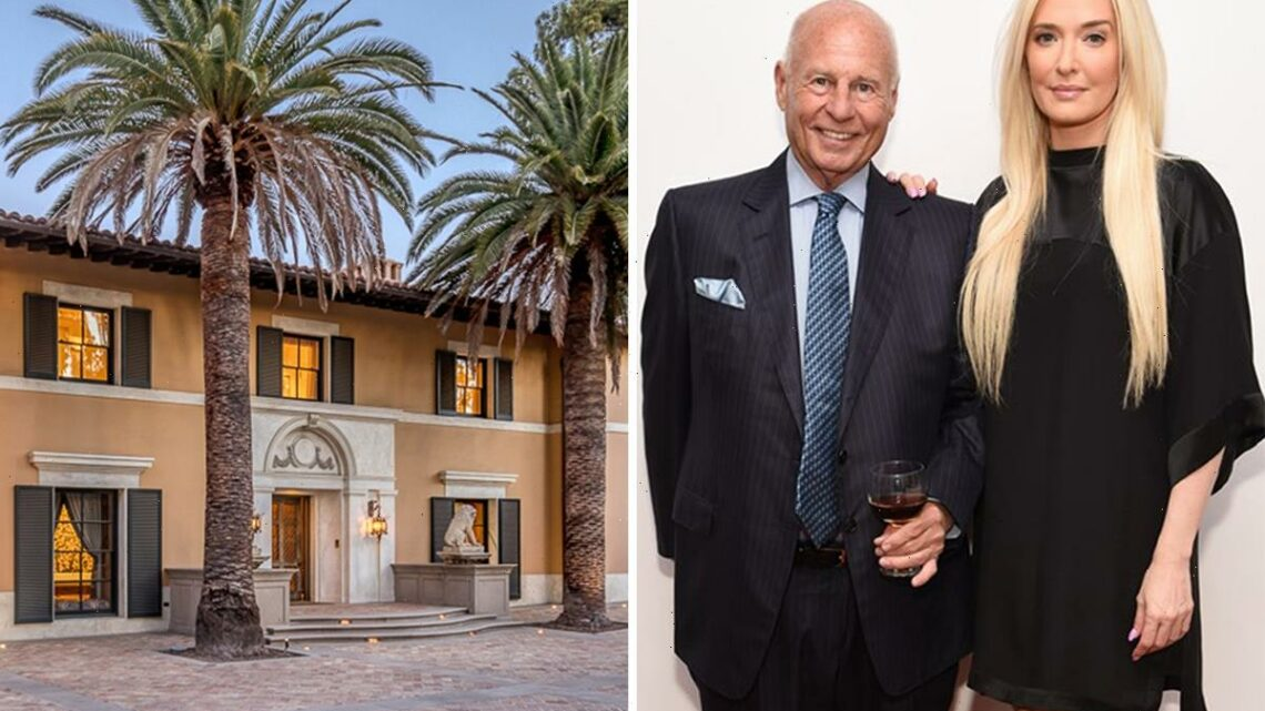 RHOBH's Erika Jayne lists $13M LA mansion with husband Tom Girardi as lawyer is 'in huge debt to clients' amid divorce
