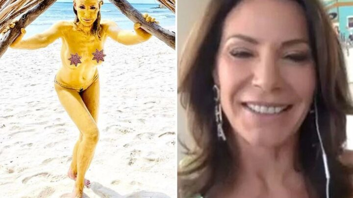RHONY's Luann de Lesseps, 55, admits she would '100% pose for Playboy' if shoot is 'done tastefully and elegantly'