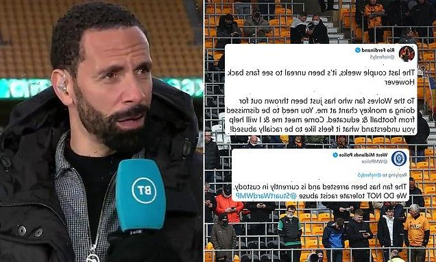 Rio Ferdinand allegedly racially abused by Wolves supporter