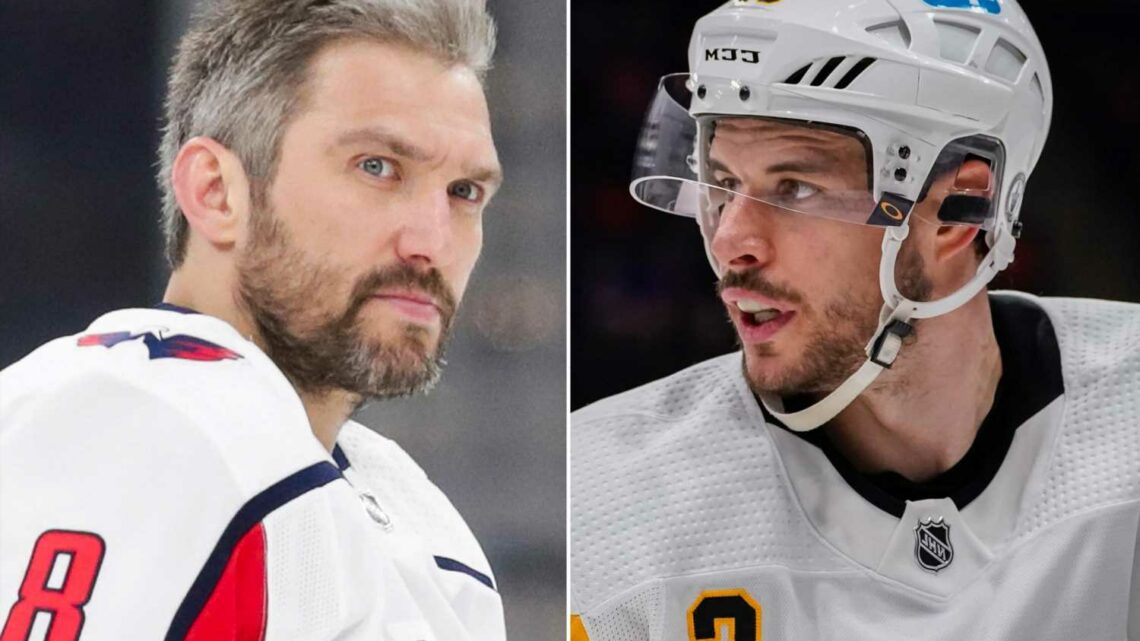 Sidney Crosby, Alex Ovechkin are graying and fraying