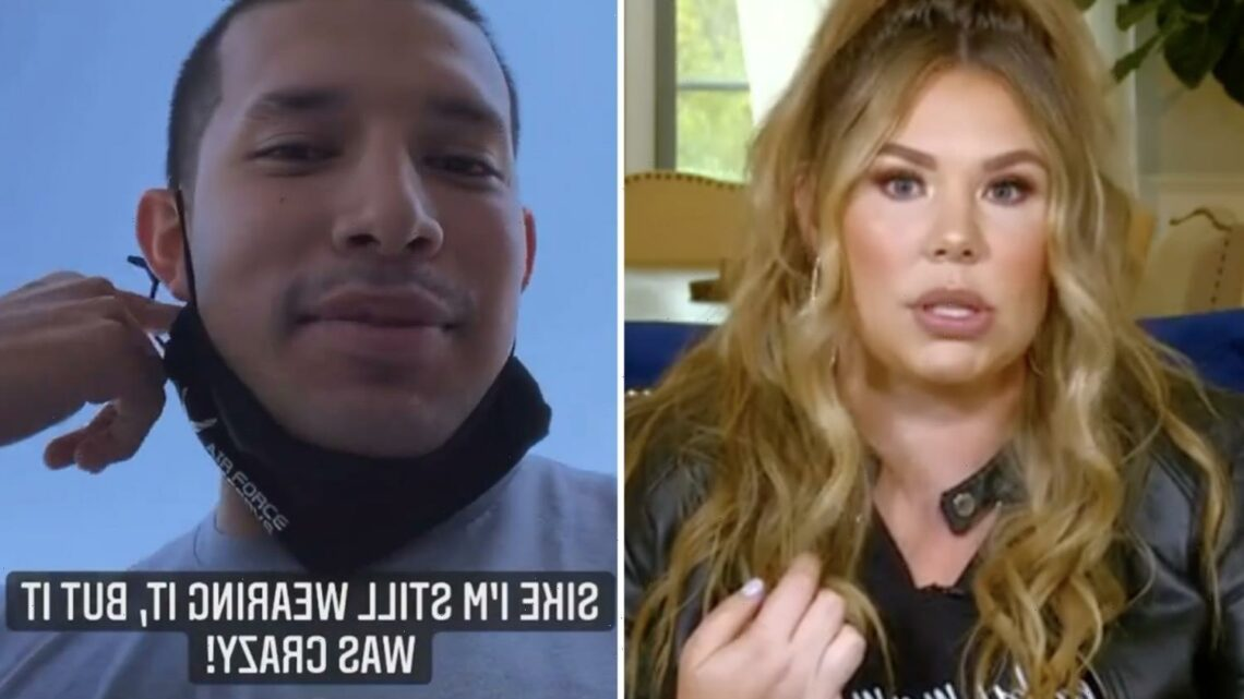 Teen Mom's Javi Marroquin films himself in Wawa after Kailyn Lowry claimed he tried to 'f**k her' in store's parking lot