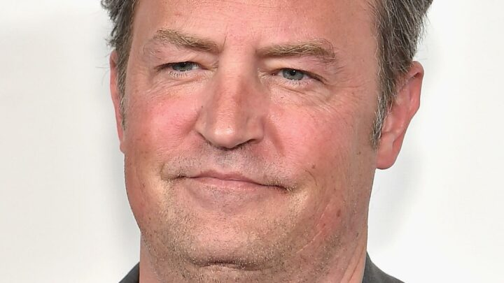 The Real Reason Matthew Perry Slurred His Words During The Friends Reunion Trailer