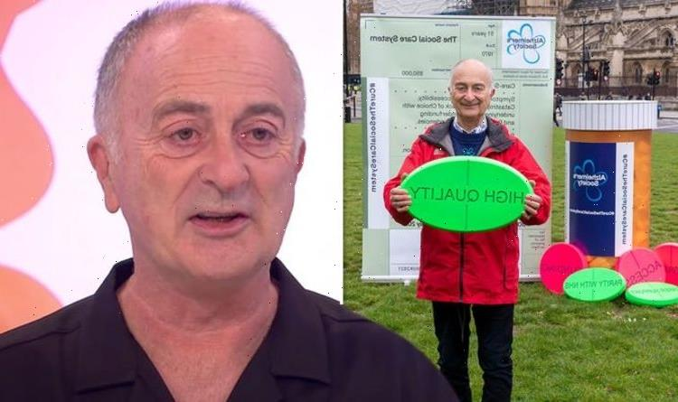 Tony Robinson on his strict lifestyle plan to help prevent Dementia after parents' death