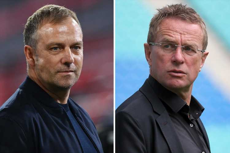 Tottenham 'speak to Bayern Munich manager Hansi Flick and ex-RB Leipzig chief Ralf Rangnick' as they hunt for new boss