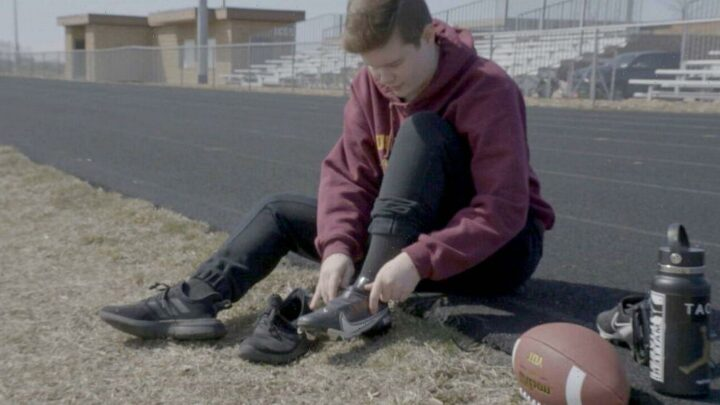 Trans teen speaks out against trans athlete bans, says football has been 'lifesaving'