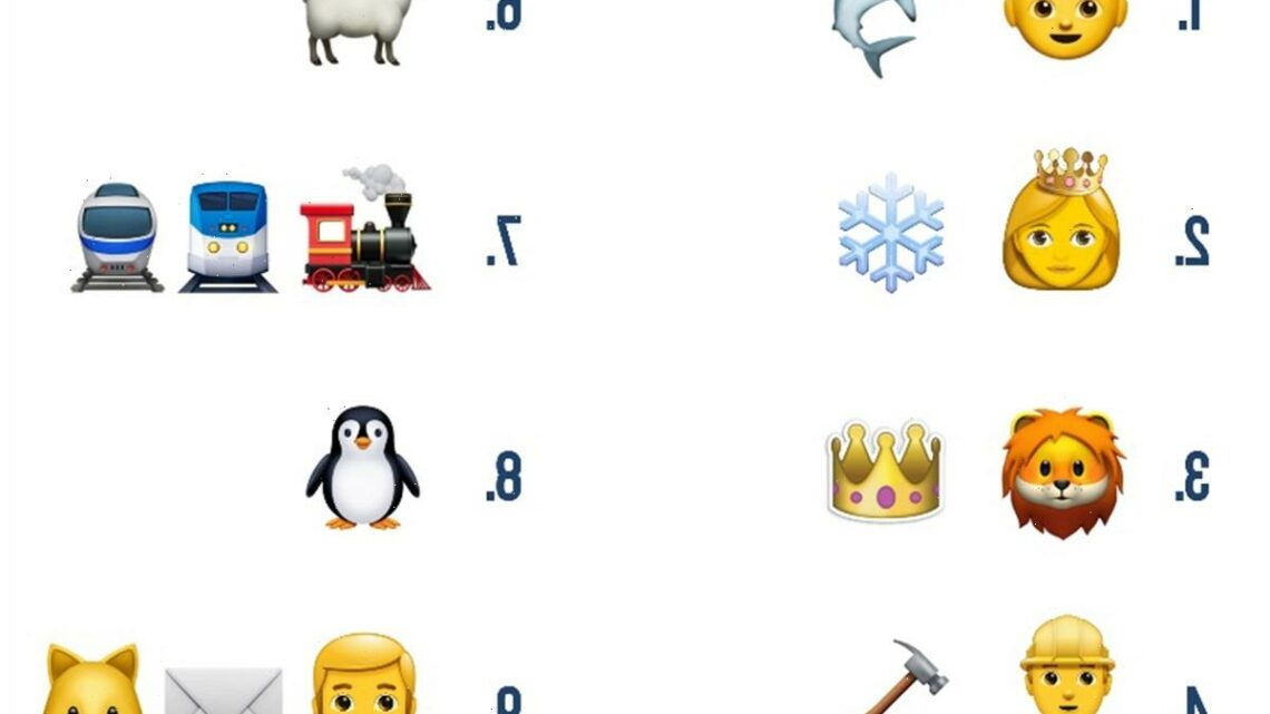 Tricky emoji quiz challenges you to name the kids' song… and we bet the first one gets stuck in your head for ages