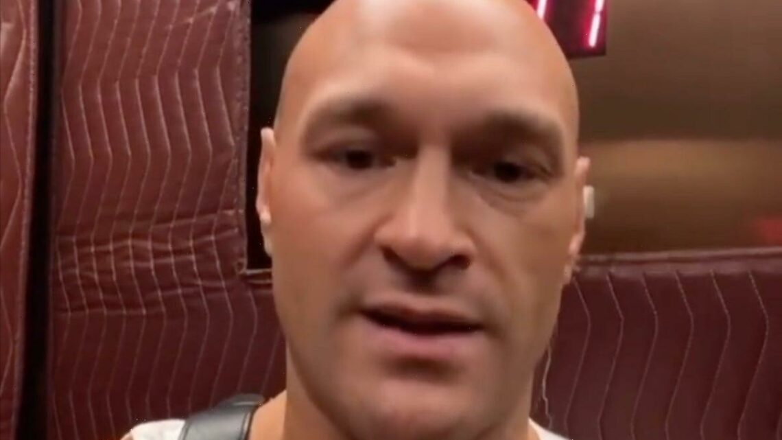 Tyson Fury claims Instagram was hacked after 'Pray for Israel' post